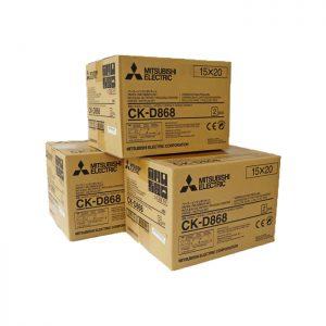 CK-868 3pk D90 Print Media